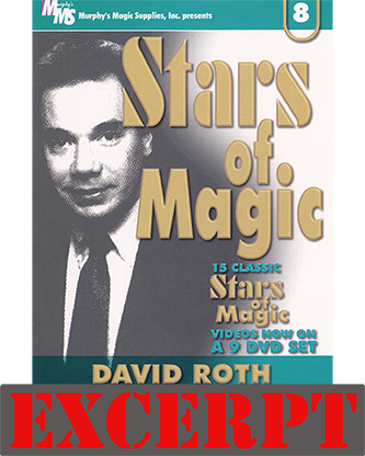They Both Go Across video DOWNLOAD (Excerpt of Stars Of Magic #8 (David Roth))They Both Go Across video DOWNLOAD (Excerpt of Sta