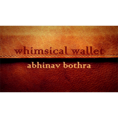 Whimsical Wallet by Abhinav Bothra - Video DOWNLOAD