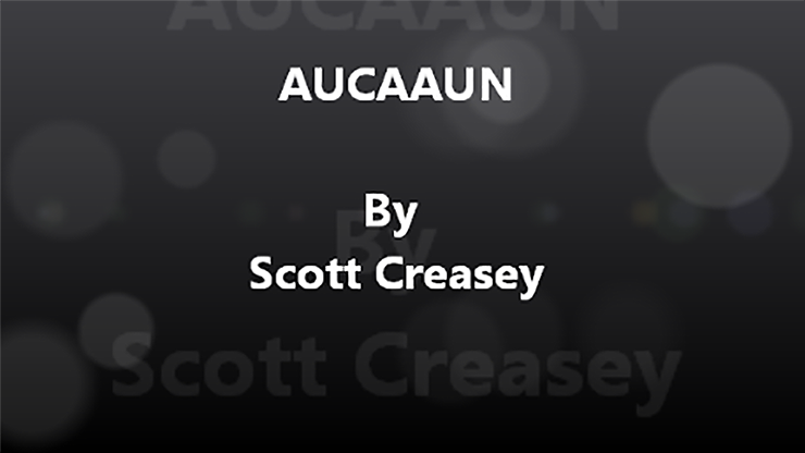 AUCAAUN - Any Unknown Card at Any Unknown Number by Scott Creasey Video DOWNLOAD