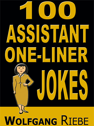 "100 Assistant One-Liners by Wolfgang Riebe eBook DOWNLOAD<br /><span class=""smallText"">[MMSDL_59367]</span>"
