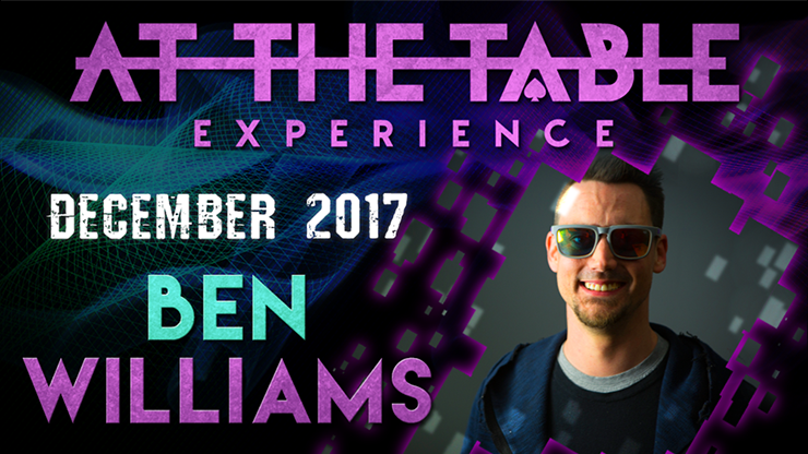 At The Table Live Lecture Ben Williams December 6th 2017<br /><span class=&quot;smallText&quot;>[MMSDL_60074]</span>