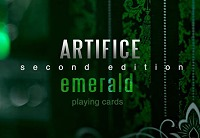 Artifice Playing Cards : Second Edition [Emerald] / Ellusionist
