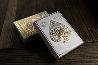 Artisan Playing Cards [White] by Theory11<br /><span class=&quot;smallText&quot;>[DECK_ARTISAN_WHITE]</span>