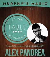 At the Table Live Lecture - Alex Pandrea (2014/5/8)