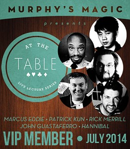 At the Table Live Lecture - 2014-07 (MMSDL)