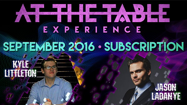 At the Table Live Lecture - 2016-09 (MMSDL)