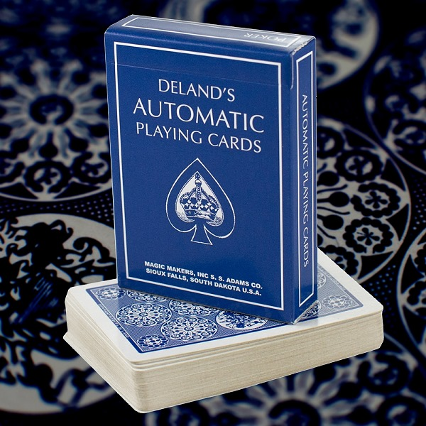The Automatic Deck (DeLands Marked Deck) [BLUE]