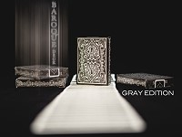 Baroque Deck [Gray Edition] by USPCC and Criss Angel