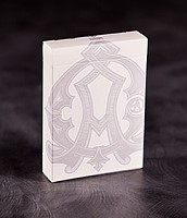 Baroque Deck [White Edition] by USPCC and Criss Angel