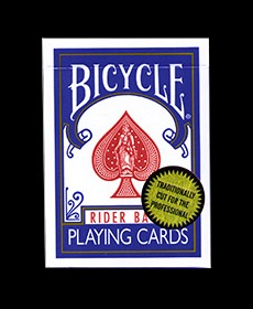 Bicycle Playing Cards (Gold Standard/BLUE) by Richard Turner