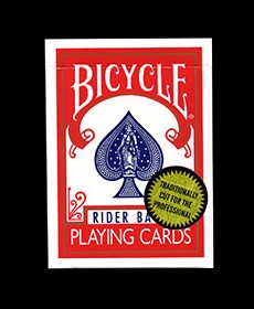 Bicycle Playing Cards (Gold Standard/RED) by Richard Turner<br /><span class=&quot;smallText&quot;>[DECK_GOLD_RED]</span>