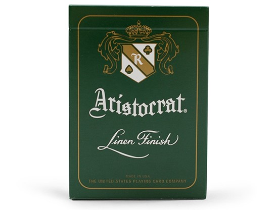 Aristocrat Playing Cards (Green)