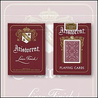 Aristocrat Playing Cards (Red)
