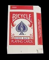 Bicycle Box empty 5pack (Red)