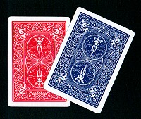 Bicycle Double Back (Blue/Red)