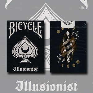 Bicycle Illusionist Deck (Dark) by LUX Playing Cards
