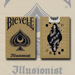 Bicycle Illusionist Deck (Light) by LUX Playing Cards