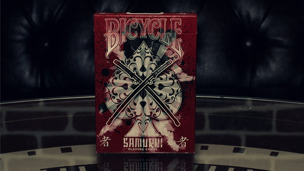 Bicycle Samurai Playing Cards V3 by USPCC and Marchand de Trucs