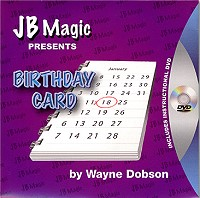 "Birthday Card by Wayne Dobson and JB Magic<br /><span class=""smallText"">[SQS_BIRTHDAYCARD]</span>"