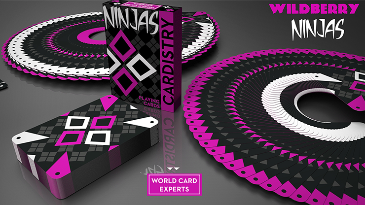 Cardistry Wildberry Ninjas by De'vo vom Schattenreich and Handlordz