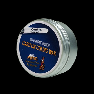 Card on Ceiling Wax 15g (Grey) by David Bonsall and Prop