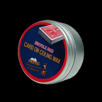 Card on Ceiling Wax 15g (Red) by David Bonsall and PropDog