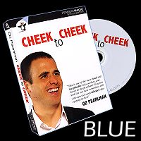 Cheek to Cheek (Blue) by Oz Pearlman
