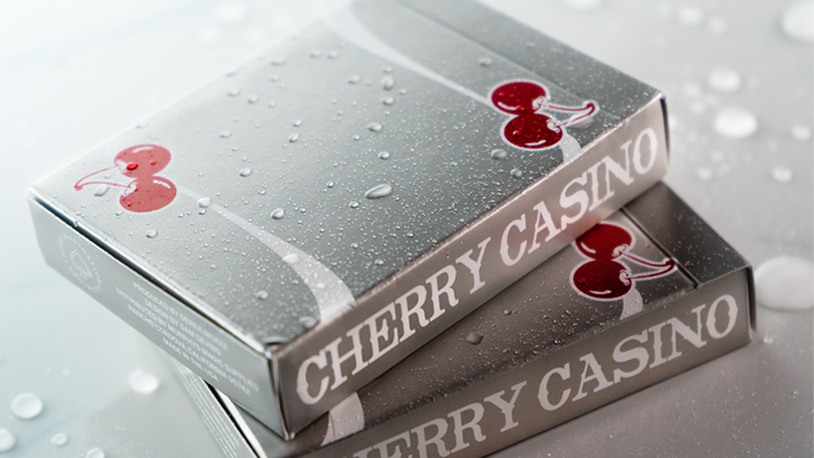 Cherry Casino (McCarran Silver) Playing Cards by Pure Imagination Projects