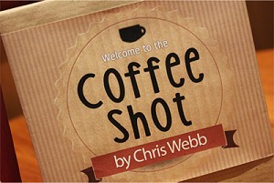 Coffee Shot by Chris Webb