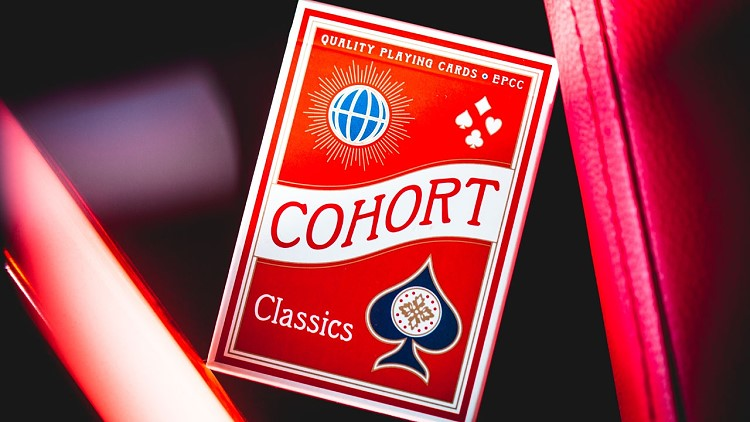 Cohorts Classics Red Playing Cards by Ellusionist