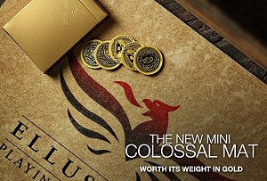 Mini Colossal Gold Close Up Mat by Ellusionist