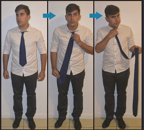 Comedy Necktie (Blue) by Nahuel Olivera