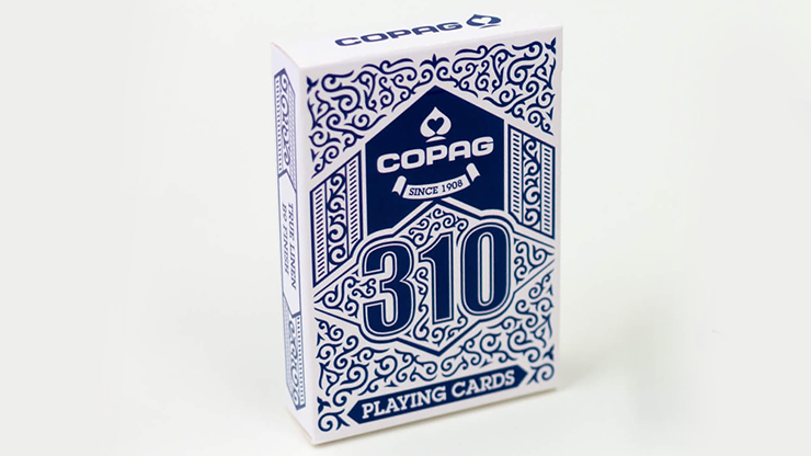"COPAG 310 Playing Cards (Blue)<br /><span class=""smallText"">[DECK_COPAG310_BLUE]</span>"