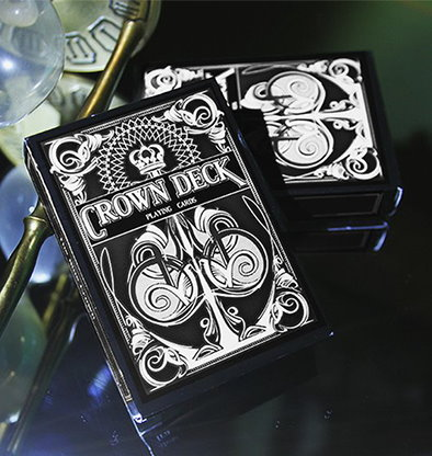 The Crown Deck (BLACK) by The Blue Crown