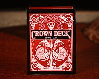 The Crown Deck (RED) by The Blue Crown