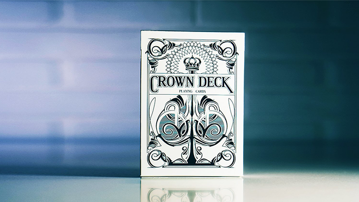 "The Crown Deck (Snow) Limited Edition by The Blue Crown<br /><span class=""smallText"">[DECK_CROWN_SNOW]</span>"