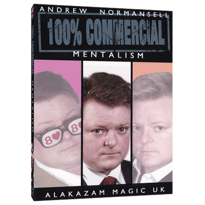 100 percent Commercial Volume 2 - Mentalism by Andrew Normansell video DOWNLOAD<br /><span class=&quot;smallText&quot;>[MMSDL_49708]</span>