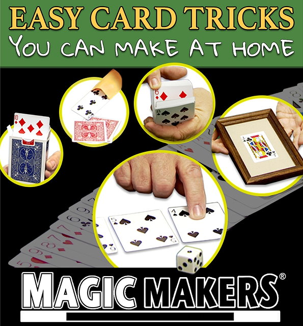 Easy Card Tricks: You Can Make At Home