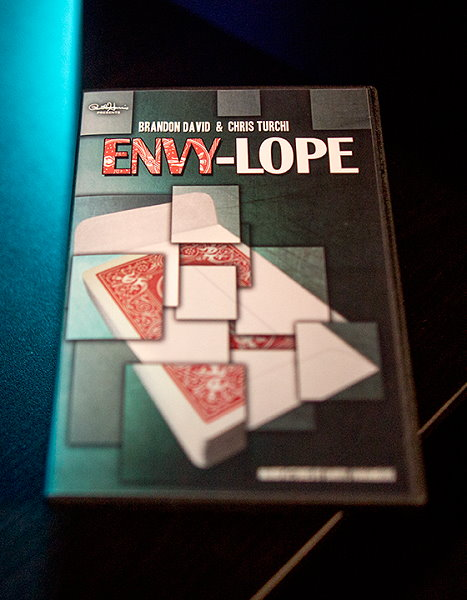 Envylope (BLUE) by Brandon David and Chris Turchi