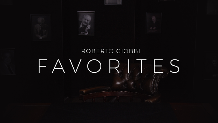 Favorites by Roberto Giobbi<br /><span class=&quot;smallText&quot;>[DVD_FAVORITES]</span>