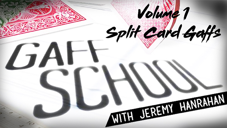 Gaff School Volume 1 (Split Card Gaffs) by Jeremy Hanrahan video DOWNLOAD<br /><span class=&quot;smallText&quot;>[MMSDL_60712]</span>