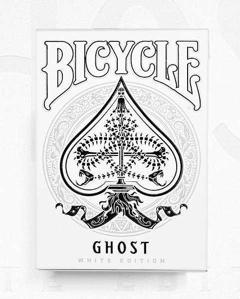Bicycle Ghost Deck [Legacy Edition] by Ellusionist<br /><span class=&quot;smallText&quot;>[DECK_GHOST_LEGACY]</span>