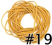 Gold Rubberbands (#19)