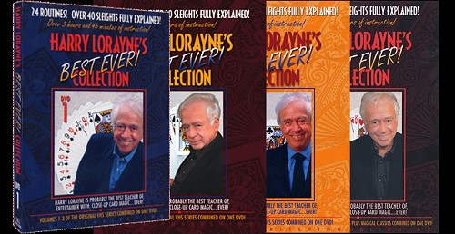Harry Lorayne Best Ever Collection Set (MMSDL)