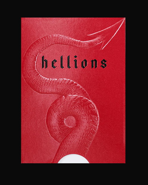 Madison Hellions Playing Cards by Ellusionist<br /><span class=&quot;smallText&quot;>[DECK_HELLIONS]</span>
