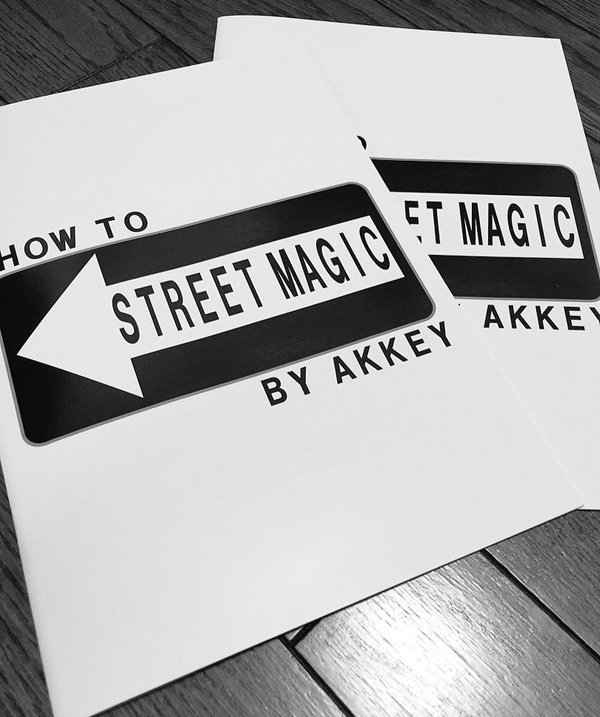 HOW TO STREET MAGIC by AKKEY<br /><span class=&quot;smallText&quot;>[DL_HOWTOSTREETMAGIC]</span>