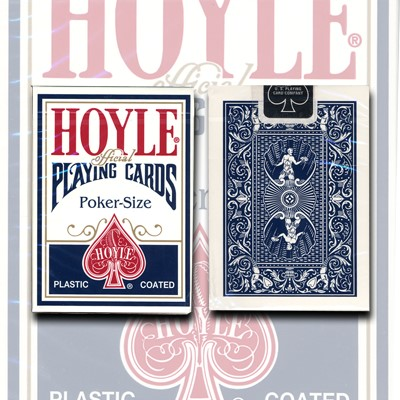 Hoyle Poker Deck (Blue) by USPCC