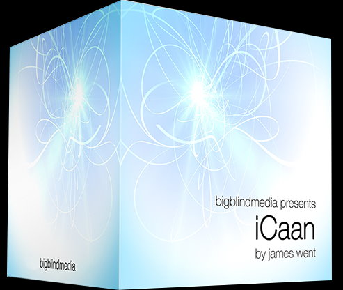 iCaan (Blue) by James Went