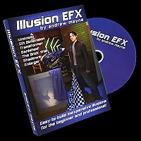 Illusion EFX by Andrew Mayne<br /><span class=&quot;smallText&quot;>[DVD_ILLUSIONEFX]</span>