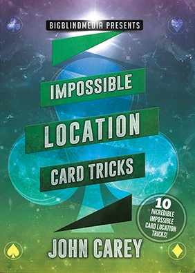 Impossible Location Card Tricks by John Carey<br /><span class=&quot;smallText&quot;>[DVD_IMPOSSIBLELOCATIONCARD]</span>